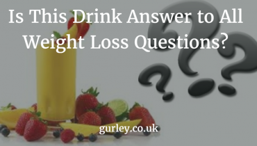 Is This Drink Answer to All Weight Loss Questions